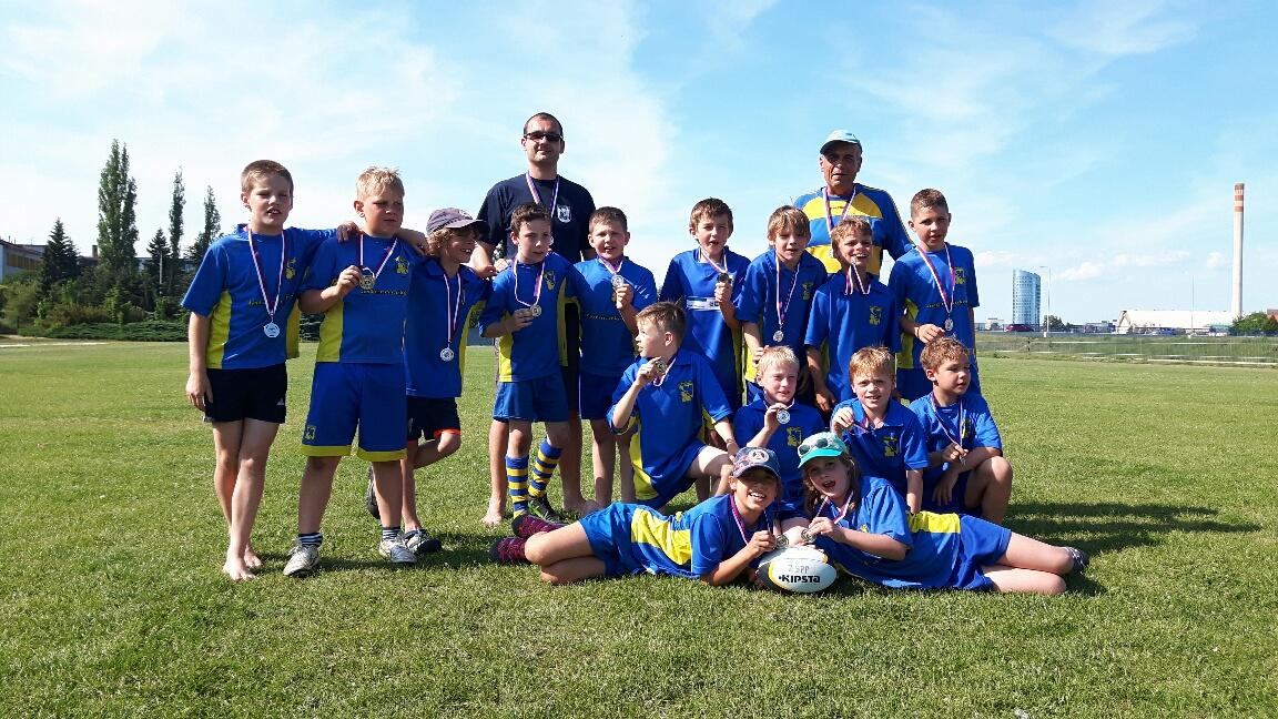 35a1cacc1a Celostátní turnaj kategorie U10 – naše družstvo stříbrné! – Rugby ...