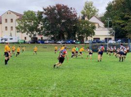 Kadeti vítězně proti společenství malých klubů